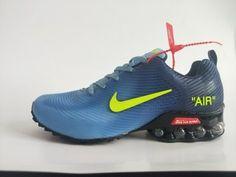 pretty nice 2ef73 cafc1 Mens Nike Air Shox KPU Clear Blue Volt Yellow Footwear Nike Shox Nz, Mens  Nike