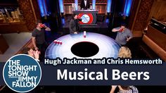 Musical Beers with Hugh Jackman, Chris Hemsworth and SNL Cast Members : The Tonight Show Starring Jimmy Fallon - 5 Mar 2015 #Mullets