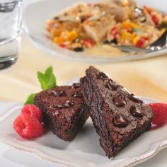 "Black Bean ""Flourless"" Brownies Recipe"