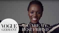 You're my best friend – A Message for you by Henrieth Paul for VOGUE