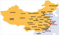 cool Wenzhou Map