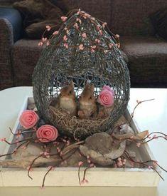 Yarn Easter Basket Egg | Girls Like Us