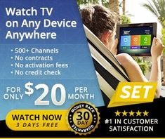 Get over 500+ HD channels for only $20/month! No contracts or commitments! The impressive channel list includes all your favorite live cable TV channels, premium movie channels, thousands of on-demand options, pay-per-view events, and ALL FOUR major sport premium packages (NFL, NBA, MLB, NHL) - never miss another game!!  #IPTV #internet #tv #cable #cutthecord #cutcable #cablesucks #save #love #friends