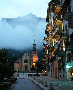 l'église - Chamonix-Mont-Blanc, Rhone Alpes, France