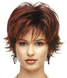 Haare Coco Wig by Rene of Paris WeddingTrix: The Affiliate Honeymoon One of the most robust sales ma Shaggy Short Hair, Short Shag Hairstyles, Choppy Hair, Short Hair Wigs, Human Hair Wigs, Wig Hairstyles, Short Shaggy Haircuts, Short Hair With Layers, Short Hair Cuts For Women