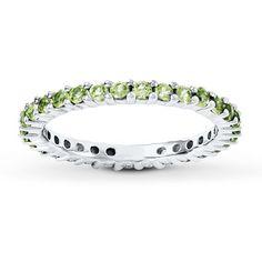 Stackable Peridot Ring