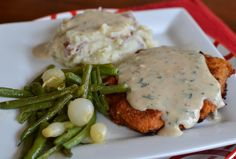 There is nothing quite as scrumptious as chicken fried steak with gravy!  Oh my gosh!  I could eat this for breakfast! Look at that beautiful comfort food.  So easy to prepare as well!  Do you have company coming over?  They will love all over this dish! And so will you!