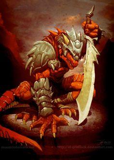 warrior dragon - Buscar con Google