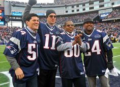 Honorary Captains: Tedy Bruschi, Drew Bledsoe, Troy Brown & Ty Law