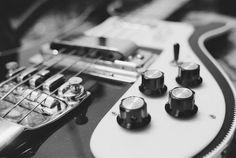 1971, Montreux, Switzerland — (Deep Purple) Roger Glover's Rickenbacker Bass Guitar — Image by © Shepard Sherbell/Corbis