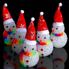 Christmas Decoration Flashing LED Christmas snowman XMAS Tree Hanging Ornament in Home & Garden, Parties, Occasions, Balloons, Decorations | eBay