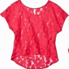 Coral lace!!!