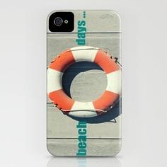 """Beach Days"" i phone case"