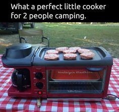 All you need in an RV or tiny home or camping when you don't want a bond fire!