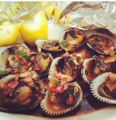 Conchas negras- Salvadorean food