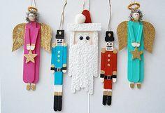 Cleverly Cute Stick Ornaments - CreativeMeInspiredYou.com