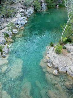 Arizona...Fossil Creek in Strawberry