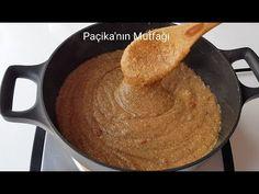 MUHTEŞEM LEZZETİYLE UNLU İRMİK HELVASI - Paçikanın Mutfağı - YouTube Turkish Recipes, Muffin, Granola, Cake, Desserts, Food, Recipies, Muffins, Pie