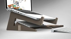 Reduce neck and back pain caused by laptop use. ​ €25 VAT Included. ​ Cost effective, ergonomic work posture. Raises laptop to eye level while sitting. Adjustable to suit any laptop size. Made from the highest quality birch and cut from our state of the art CNC technology. Neck And Back Pain, Laptop Stand, State Art, Sun Lounger, Birch, Cnc, Improve Yourself, Suit, Range