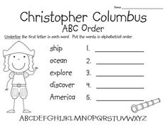 FREE Christopher Columbus Facts and Resources  Christopher
