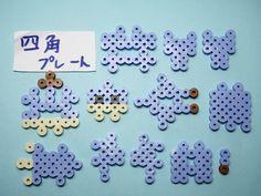 Hama Beads 3d, Hama Beads Design, Fuse Beads, Pearler Beads, Perler Bead Templates, Pearler Bead Patterns, Perler Patterns, Perler Bead Mario, Perler Bead Disney