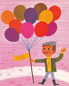 Alain Gree - These kind of colours with the ornamental french wallpaper designs could work really nicely on the balloon.