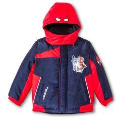 0054e930d7c2 Spider-Man Boys  Puffer Jacket Navy (Blue) 4