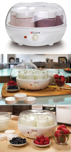 Yogurt Maker - Allows for making up to seven different types of Flavors