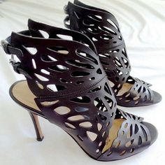 Nine West Laser Cutout Heels