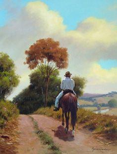 Art Tutorials Watercolor, Art Painting, Landscape Paintings, Fine Art, Western Art, Art, Figurative Artwork, Art Pictures, Contemporary Art Painting