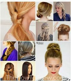 Switch up Your Hair the knot looks cool