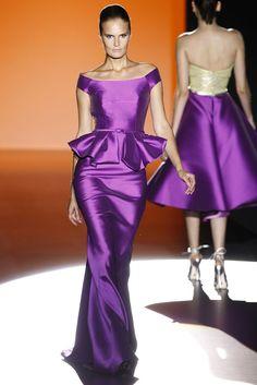 Purple Evening Gowns, Evening Dresses, Purple Outfits, Purple Dress, Satin Dresses, Strapless Dress Formal, Haute Couture Gowns, Red Carpet Gowns, Purple Fashion
