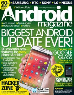 Android Magazine  Magazine - Buy, Subscribe, Download and Read Android Magazine on your iPad, iPhone, iPod Touch, Android and on the web only through Magzter