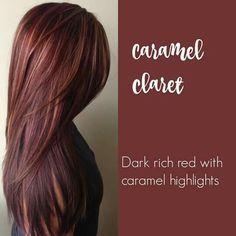 Caramel claret
