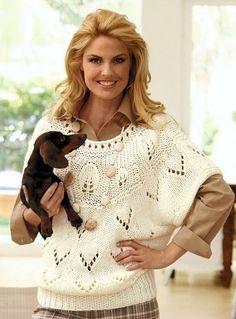 Вязание спицами для женщин Пуловер. Обсуждение на LiveInternet - Российский Сервис Онлайн-Дневников