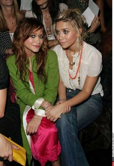 sisters! love their boho style!