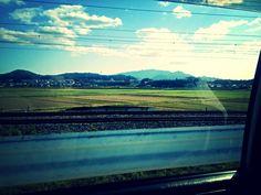 Beautiful Day #sky #Japan #nature #street #blue