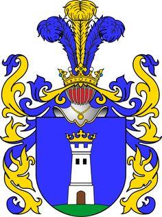 Der polnische Adel, seine Wappen und Familien.: Die adlige polnische Familie Albrich.