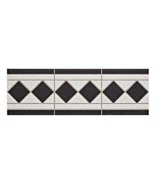 Grosvenor� Border Black/White & Black/Blue Tile