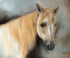 Paloma the Palomino, one of a series by Penny titled Farm Animals.