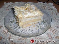 Μιλφέιγ: το αυθεντικό!!! #sintagespareas Greek Sweets, Greek Desserts, Party Desserts, Greek Recipes, Eat Greek, Recipe Images, Cupcake Cakes, Cupcakes, Sweet Tooth
