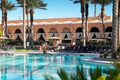 The Westin Mission Hills Resort Villas Timeshare we have-  this is a pic of the Main pool in Rancho Mirage.