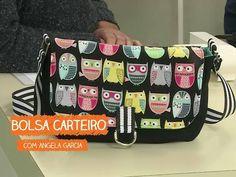 Bolsa Carteiro com Angela Garcia | Vitrine do Artesanato na TV - Rede Família - YouTube