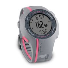 Garmin Forerunner 110 GPS-Enabled Sport Watch with Heart Rate Monitor (Pink): GPS & Navigation Disclosure: affiliate link Gps Sports Watch, Running Watch, Running Gear, Fitness Watch, Heart Rate Monitor, Gps Navigation, I Work Out, Burn Calories, Calories Burned