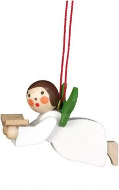 Christain Ulbricht Angel Singer German Ornament German Christmas Ornaments Old Christmas Christmas