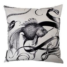 Fish on a Fag Break cushion.