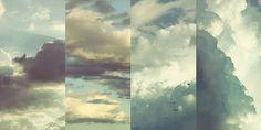 Birds clouds light lovely phtograhy