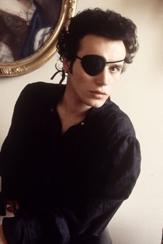 WHAT IS IT ABOUT A MAN IN AN EYEPATCH...?  We just can't help ourselves