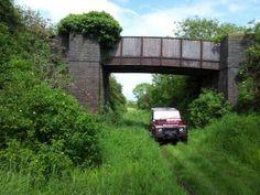 #LandRover #Defender #railway
