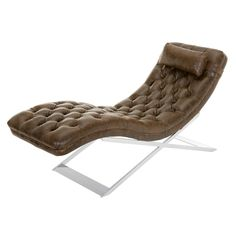 Nathaniel Leather Chaise